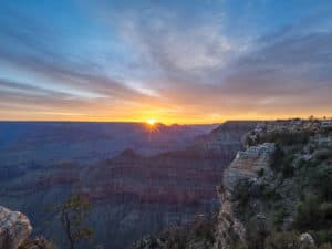 Mather Point at Sunrise